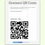 QR-Codes online generieren