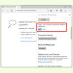 Downloads im Edge-Browser automatisch starten