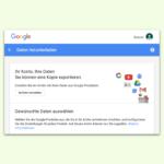 Gmail- oder Google-Konto löschen
