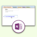 OneNote: Schnell einen Datei-Link einfügen