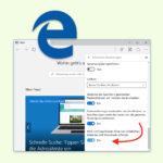 SmartScreen in Edge abschalten
