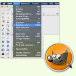 GIMP: Bild unter anderem Namen speichern