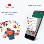 GRATIS-VPN von Opera
