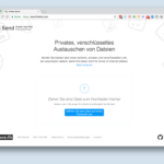 Firefox Send: Bequem Dateien austauschen