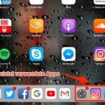 Zuletzt verwendete Apps im Dock in iOS 11 ausblenden