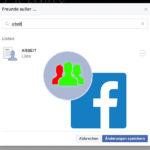 Facebook-Post nur mit bestimmten Freunden teilen