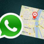Live-Standort in Whatsapp teilen