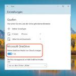 Foto-App: OneDrive-Bilder ausblenden