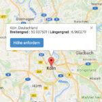 Standort-Koordinaten ermitteln